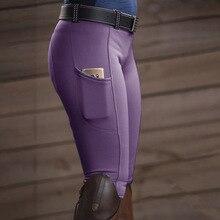 Equestrian Clothing Breeches Riding-Pants Horseback Women Stretch Hip ZCXQM American