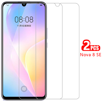 case for huawei nova 8 se cover tempered glass screen protector on nova8se nov 8se protective phone coque bag huawey huwei hawei image