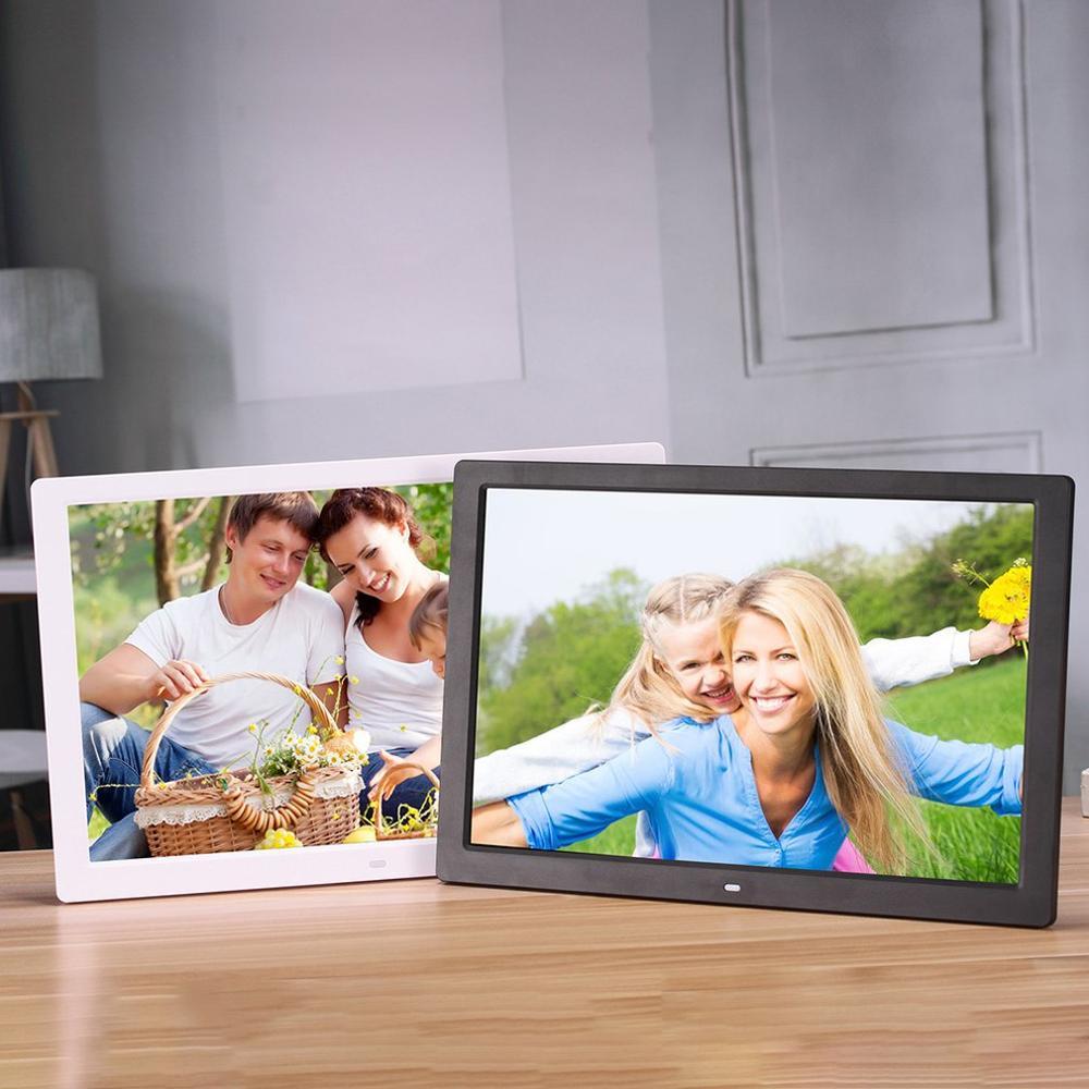 17 дюймов светодиодный экран с подсветкой HD Цифровая фоторамка электронный альбом фото музыкальный фильм полная функция хороший подарок - 6