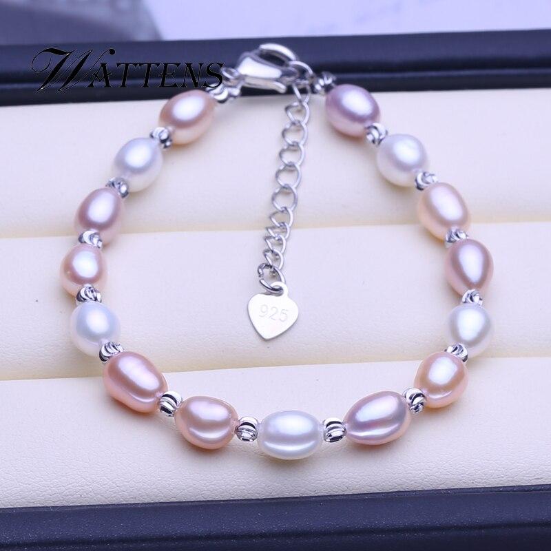 White pink purple multi pearl bracelet fashion tube bracelet pearl adjustable bracelet for women party creative gift promotion