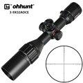Ohhunt охотничья оптика 3-9x32 AO Compact 1/2 половинный мил Dot Riflescopes Turrets Блокировка с солнцезащитным козырьком тактический прицел