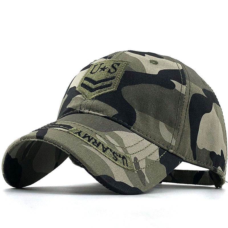 2020 New Camo Baseball Cap Fishing Caps Men Outdoor Hunting Camouflage Jungle Hat Airsoft Tactical Hiking Casquette Hats
