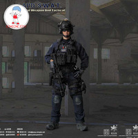 In Stock Full set 1/6 Scale EASY&SIMPLE ES 26028 1/6 LAPD SWAT Special Weapon & Tactical Police Officer for fans collecti