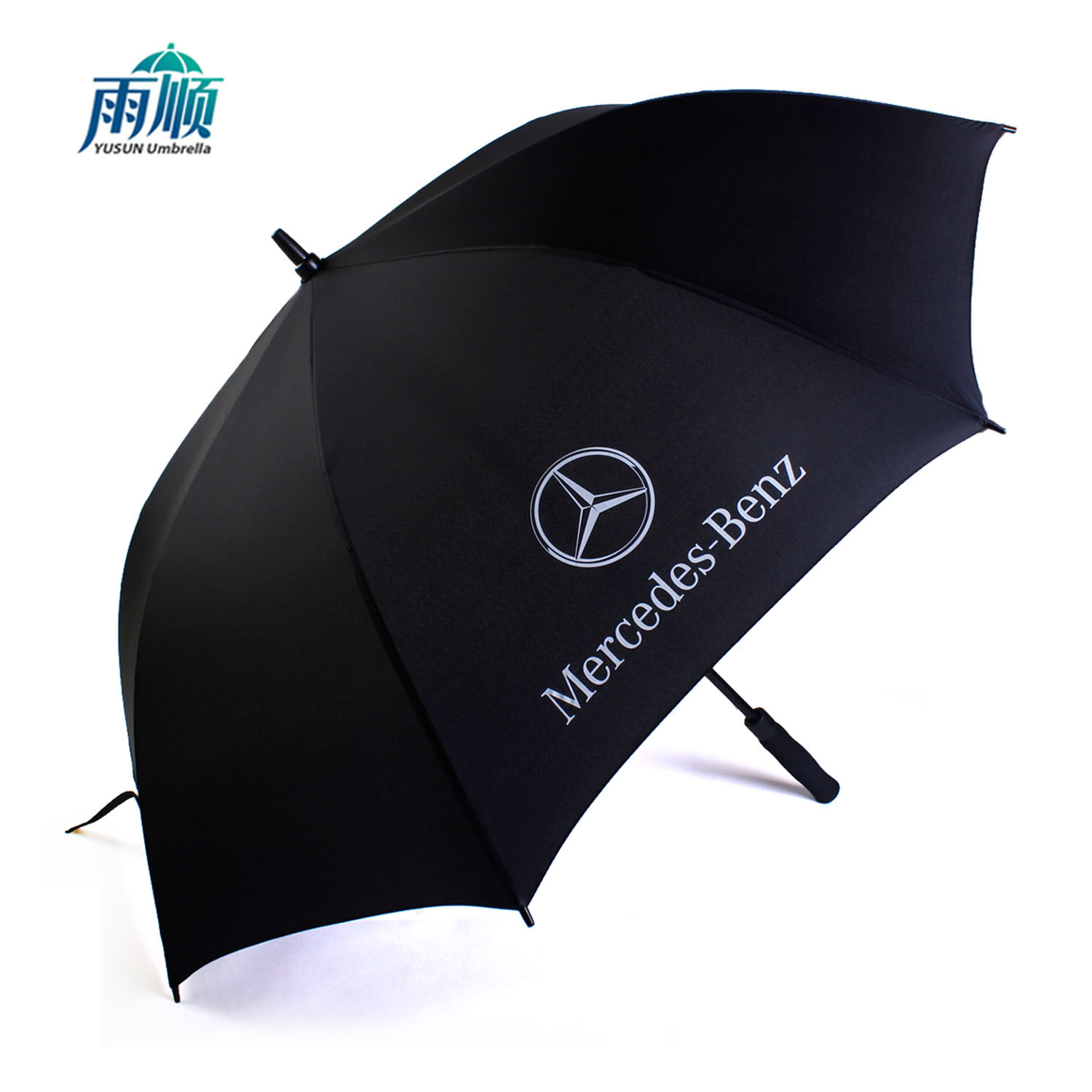 Oversized Double Straight Umbrella Fiber Golf Umbrella All-Weather Umbrella Gift Advertising Umbrella Customizable Logo Wholesal