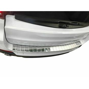 Rear bumper Protector X5 F15 F85 stainless steel Chrome