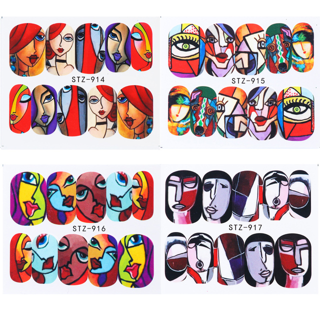 Nail Stickers For Cartoon Nail Decoration