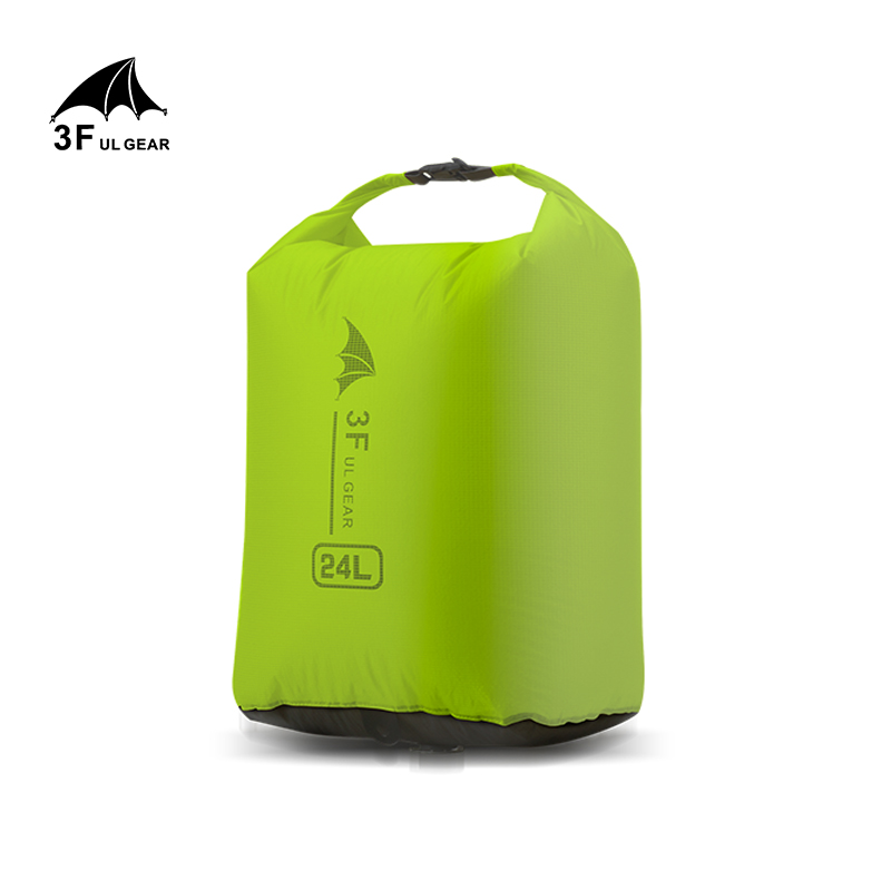 3F UL GEAR Drifting Bag  Pack Dry Sack Waterproof Bags For Canoe Kayaking Rafting 12L 24L 36L Camping Hiking