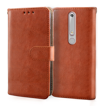 Перейти на Алиэкспресс и купить Роскошный кожаный флип-чехол для Nokia 2,1 3,1 4,2 5 6 7 5,1 6,1 7 7,1 Plus 1,3 5,3 8 чехол-кошелек Nokia 7,2 слот для карт силиконовый