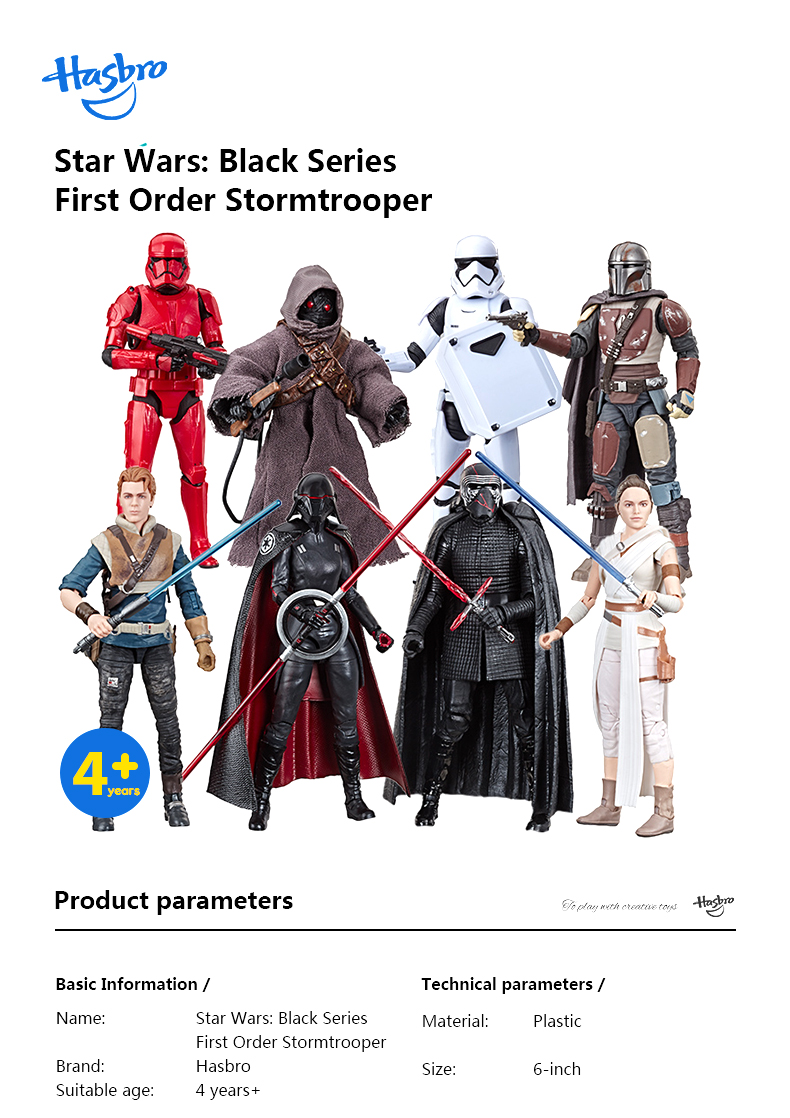 Star Wars The Black Series First Order Action Figures 15cm 1