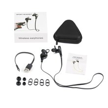 LESHP Headphones Wireless Earphones Sport Headset Premium Sound Bass Noise Cancelling Ergonomic Design with Mic philips shp9500 professional headphones with active noise cancelling 3 meter long headset for xiaomi mp3 official test