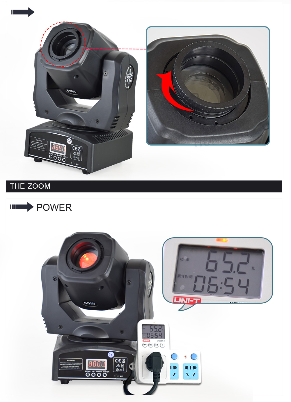 dmx 16chs profissional equipamento de iluminação palco dj gobo luz
