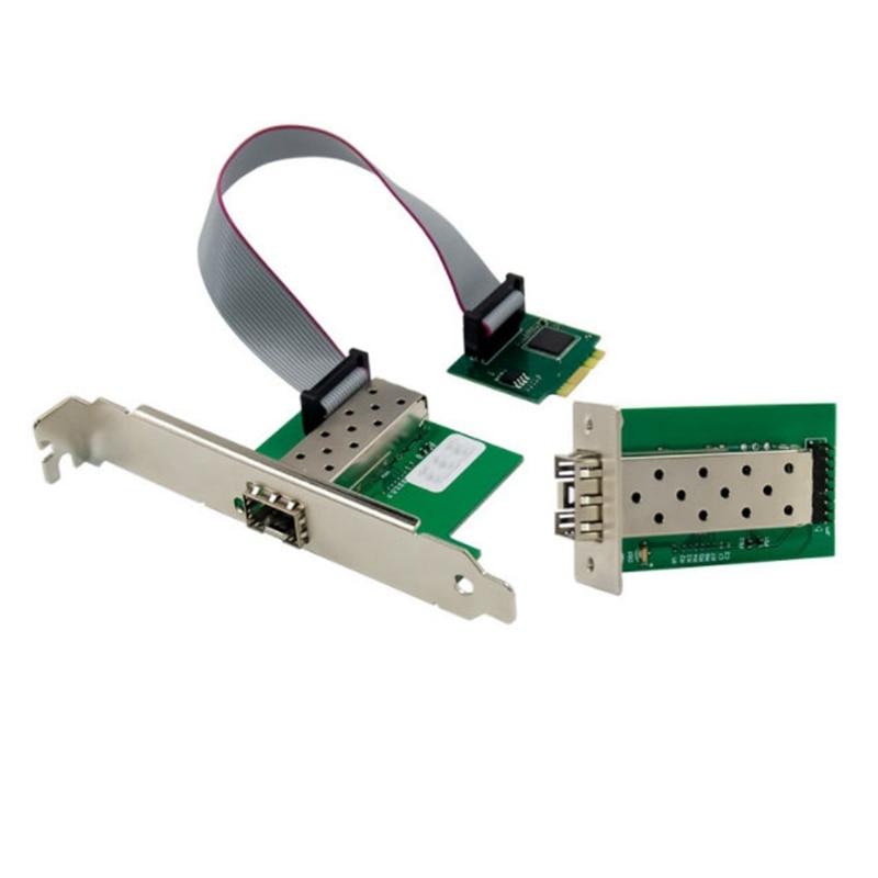 do servidor da fibra do gigabit único