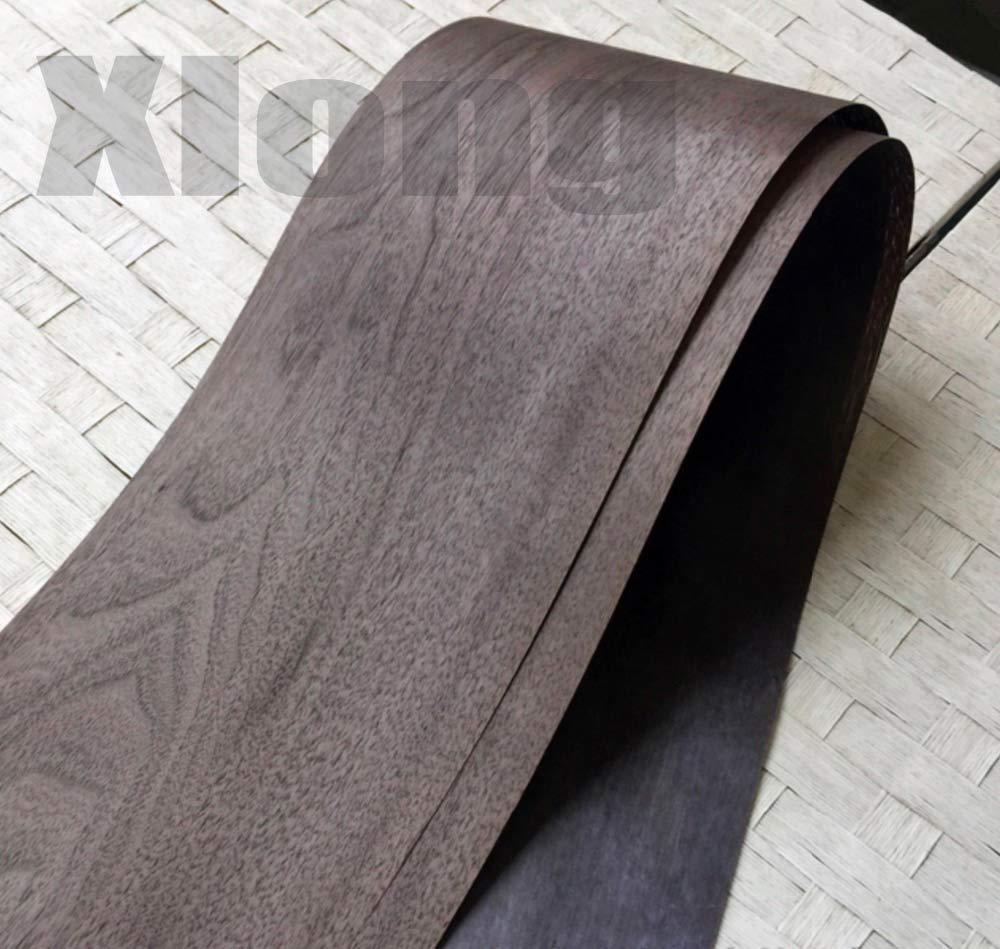 2Pieces/Lot L:2.5Meters Width:15cm Thickness:0.25mm Walnut Wood Veneer  Thin Speakers Veneer Furniture Edge Strip