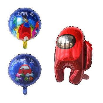 Комплект детской одежды из 3 х предметов с изображением между нами Фольга воздушные шары надувные гелием Globos Happy День рождения игровую тематику украшения на роджественскую вечеринку детские игрушки|Воздушные шары и аксессуары|   | АлиЭкспресс