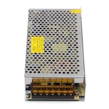 цена на DC 12V 10A Switching power supply AC100-120V 200-240V CE ROHS FCC 120W cctv power supply CCTV camera LED DC power supply