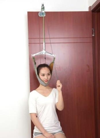 tracao dispositivo casa cervical spondylosis maca dor no pescoco tracao