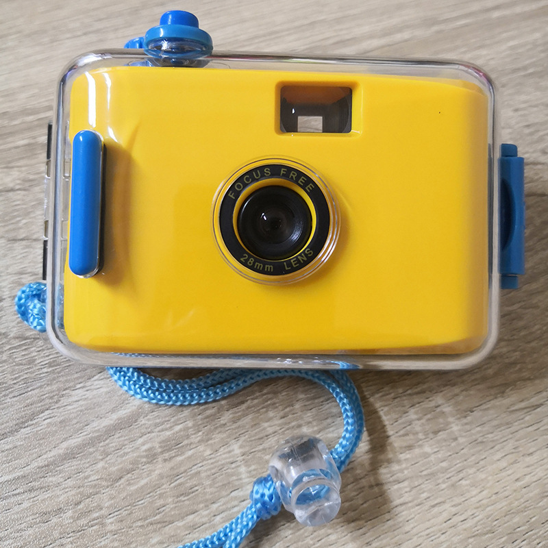 Diving Camera Toy Retro Waterproof 35mm Children Kids Digital Plastic > 3 Years Old Gifts Point And Shoot Manual Film