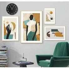 Творческий винтажный настенный художественный постер галерея