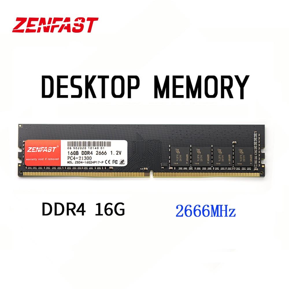 Модуль ОЗУ ZENFAST ddr4, 16 ГБ, 8 ГБ, 4 Гб, 2133 МГц, 2400 МГц, 2666 МГц