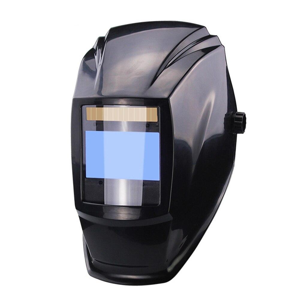 Ochrona trwały kask szlifierski Solar profesjonalny filtr HD 4 soczewka czujnika łuku automatyczne przyciemnianie przenośny spawanie Pretective