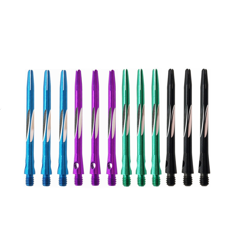 Fox Smiling 3PCS Darts Shafts Aluminum 2BA 45mm Dart Shaft For Professional Darts Accessories