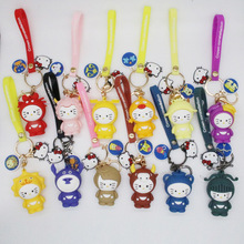 2019 Animation Key chain 12 Zodiac Aries Gemini Wallet Key chain Accessory Gift Fashion Taurus key Ring High Quality for Women cartoon key chain for accessory