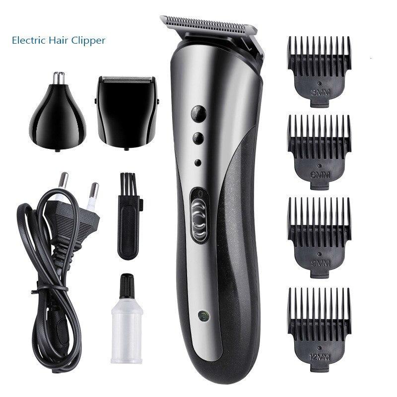 Electric Hair Clipper Professional Hair Trimmer Beard Rechargeable Haircut Hair Cutter Mens Barbershop Hair Cutting Machine