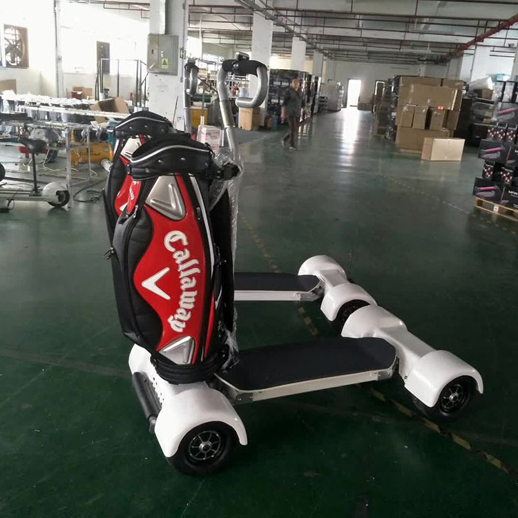 Four-wheel Balance Cart Golf Cart Electric Golf Trolley 1