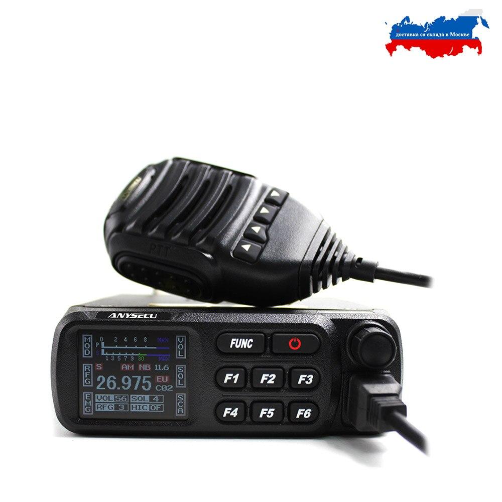 CB-27 CB Mobile Radio AM/FM 12/24 4Watts 26.965-27.405MHz Citizen Band ALL European  CB Mobile Transceiver FM AM Model Cb27