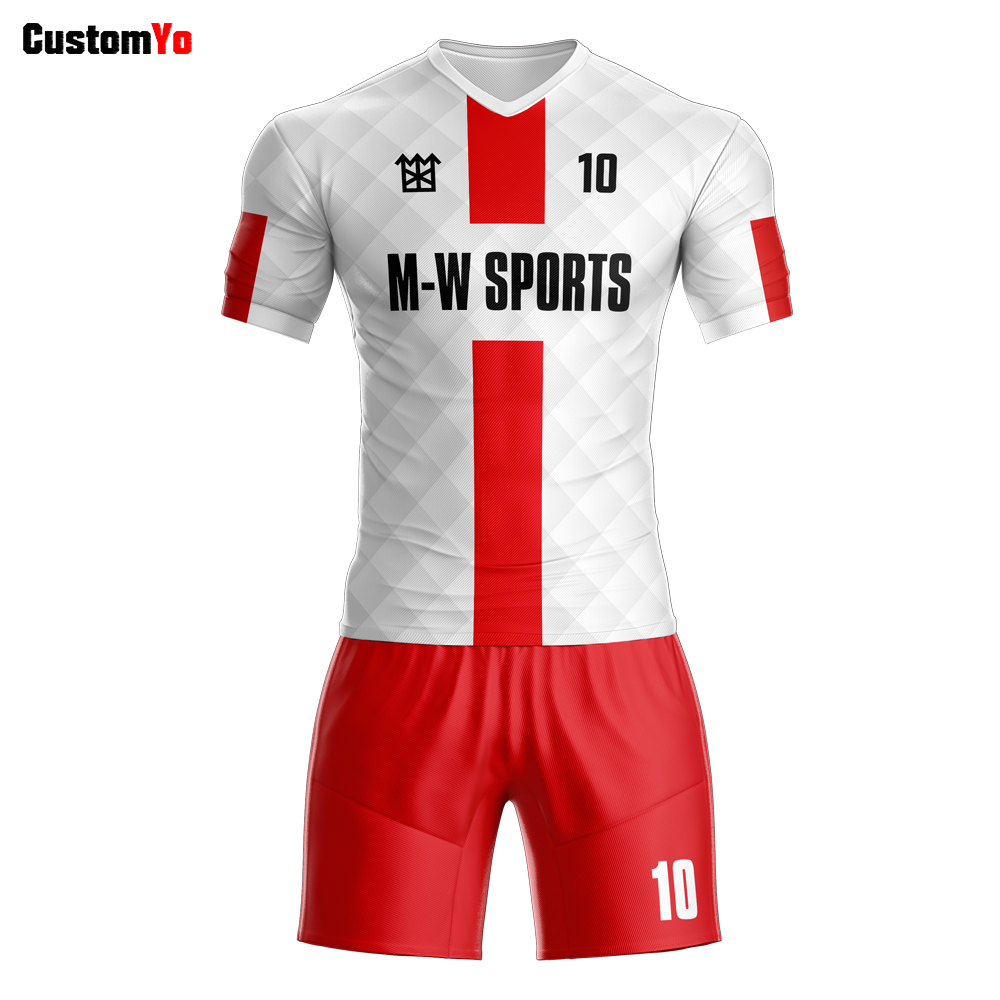separation shoes d2c06 1dc94 US $22.42 62% OFF|Cheap sublimation custom dry fit soccer jersey wholesale  team bulk thai quality soccer jerseys-in Soccer Sets from Sports & ...