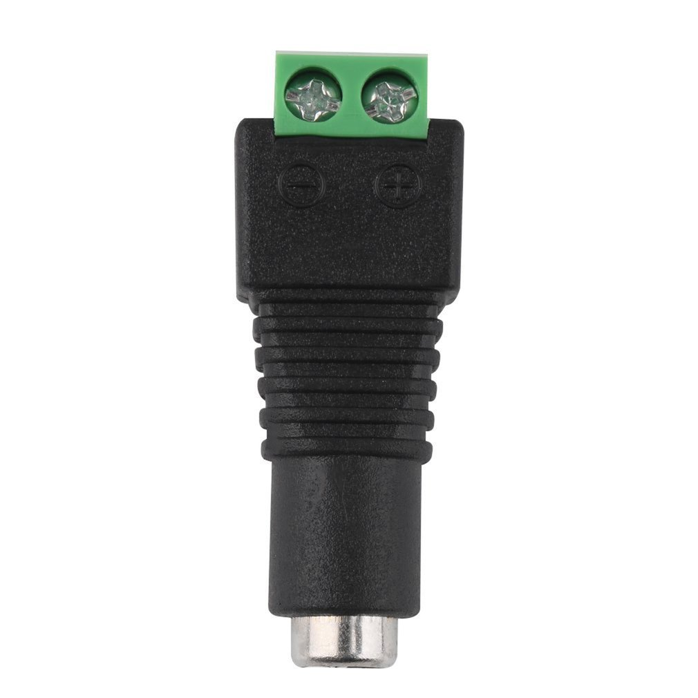 Hot 1Pcs 2.1 X 5.5mm DC Power Female Plug Jack Adapter Connector Plug For CCTV LED Strip Light Eletronic New