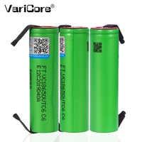 Batería recargable de iones de litio VTC6, 2021 V, 3,7 mAh, 3000, descarga de 20A, baterías VC18650VTC6 + hojas de níquel de DIY, 18650