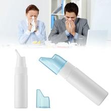 Горячее предложение, портативная бутылочка для мытья носа, для взрослых и детей, пустая бутылка для промывания носа, для ухода за здоровьем, Антиаллергенная стерилизация, пустая бутылка