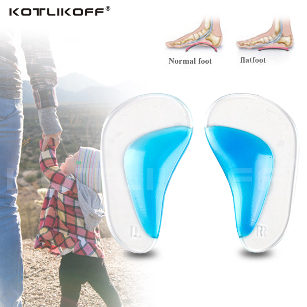 Orthopedic Arch Support Flatfoot Insole For Shoes Pads Breathable Invisible Triangle Massage Inserts Pads Adult Shoe Sole