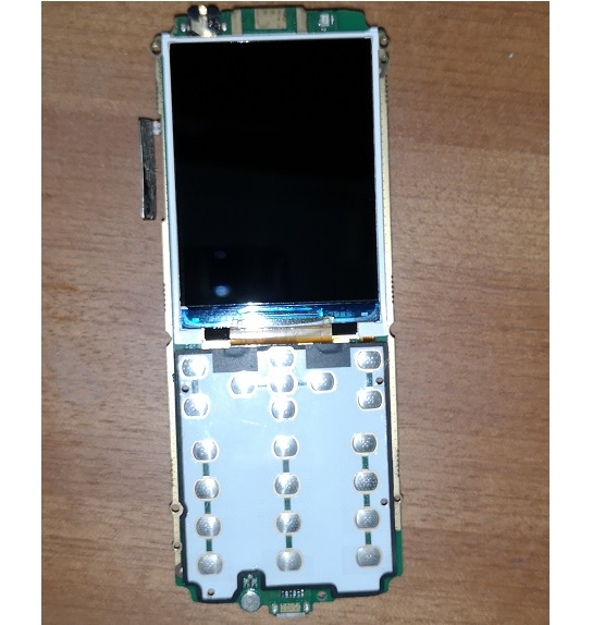 PHIXFTOP LCD display with main board for <font><b>Philips</b></font> <font><b>E560</b></font> Cellphone LCD with PCBA for Xenium CTE560 mobile phone image