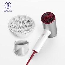 SOOCAS H5 سلبي أيون مجفف الشعر 1800 واط المهنية مجفف للنفخ سبائك الألومنيوم قوية مجفف كهربائي الباردة الهواء الساخن تعميم