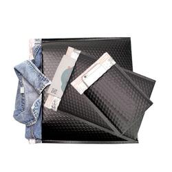 Matte schwarz Aluminized Blase Mailer Poly Sprudeln Werbungen Aufgefüllte Umschläge Selbst Dichtung Umschlag blase umschlag verschiffen Taschen
