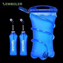 Bexiga de água reservatório de água hidratação pacote saco de armazenamento bpa livre-0.25l 0.5l 1l 1.5l 2l 3l correndo hidratação colete mochila