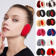 Earmuffs Earbags Ear-Cover Warm Bandless Winter Women Man Adult Fashion Fleece 1-Pair