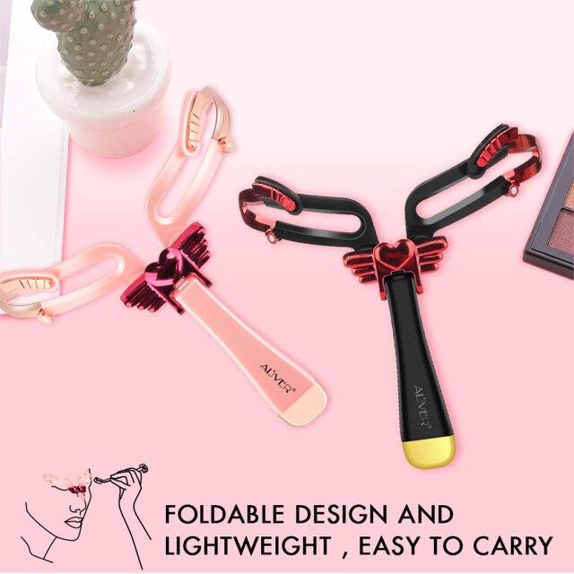 Hot 1pcs Wholesale Reusable Adjustable Eyebrow Stencil Makeup Shaper Eye Brow Makeup Model Template Eyebrows Card Styling Tools 5