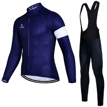 Men's Cycling Jersey Set Autumn Team Racing Bike Sportswear Outdoor Long Sleeve Quick-Dry MTB Male Cycling Sets Riding Equipment