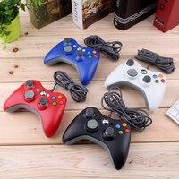 Gamepad a 5 colori per Xbox 360 Joystick Controller cablato per Controller PC Microsoft ufficiale per Windows XP 7 8 10