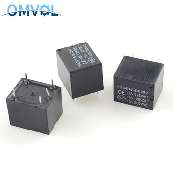 relay JQC-3F(T73) DC9V/12V/24V JQX-14FF3 relais 5PIN pcb miniature Power Relay image