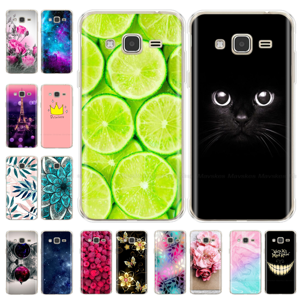 For Samsung Galaxy J3 2016 Case Soft Silicone Case Cover For Samsung J3 2016 2015 J320 TPU Phone Cases Coque Bumper Soft Bags