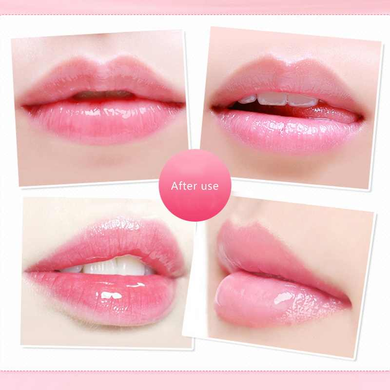 1pc קרם לחות טבעי שפתון מזין שקוף שפתון איפור שפתיה לאורך הגנת איפור כלים משלוח אקראי