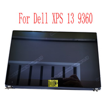 شاشة LCD لـ Dell XPS 13 9350 9360 تجميع P54G P54G002 3200*1800 QHD مع محول رقمي باللمس أو 1920*1080 FHD لا تعمل باللمس 07TH8V
