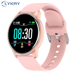Image 1 - LYKRY Zl01 スマート腕時計レディースメンズスポーツ 1.3 インチ画面フィットネストラッカー心拍数モニター IP67 防水メッセージリマインダー時計