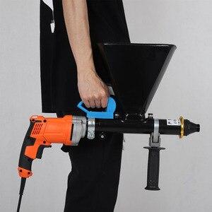 Image 1 - المحمولة الاسمنت ملء بندقية معدات الحشو الكهربائية مقاوم للماء وتسرب ملء آلة الحشو