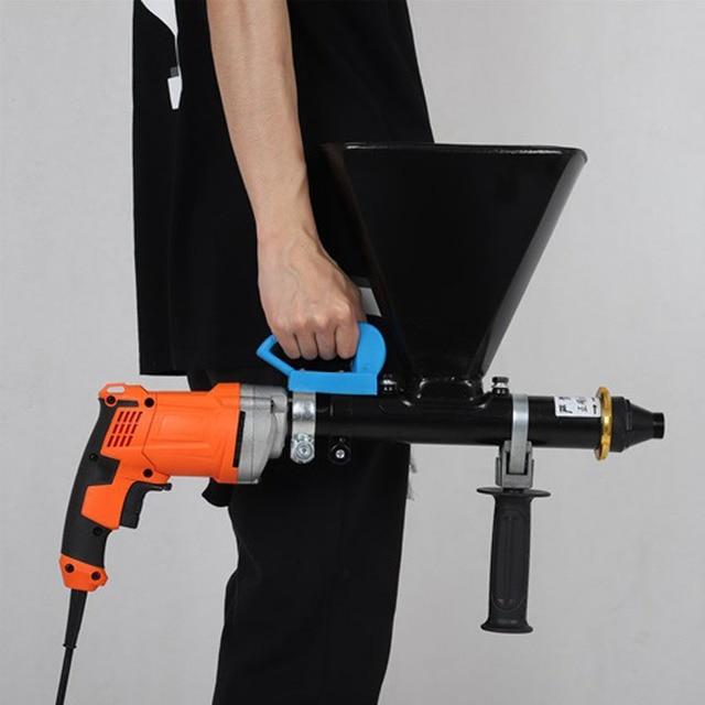 المحمولة الاسمنت ملء بندقية معدات الحشو الكهربائية مقاوم للماء وتسرب ملء آلة الحشو