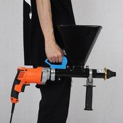 Pistola de llenado de cemento portátil, equipo de lechada eléctrica, resistente al agua y máquina de rellenado de fugas